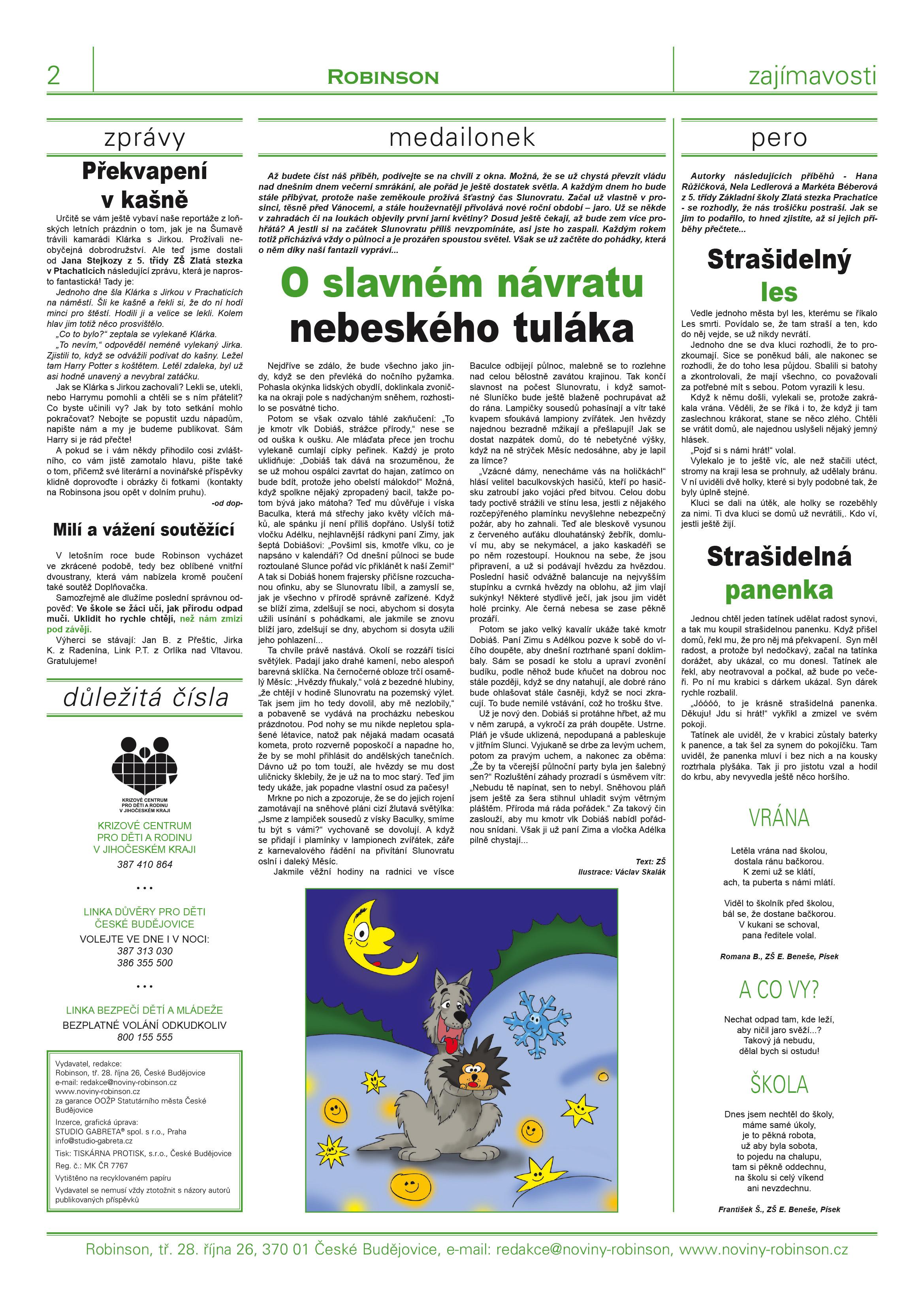 Robinson noviny