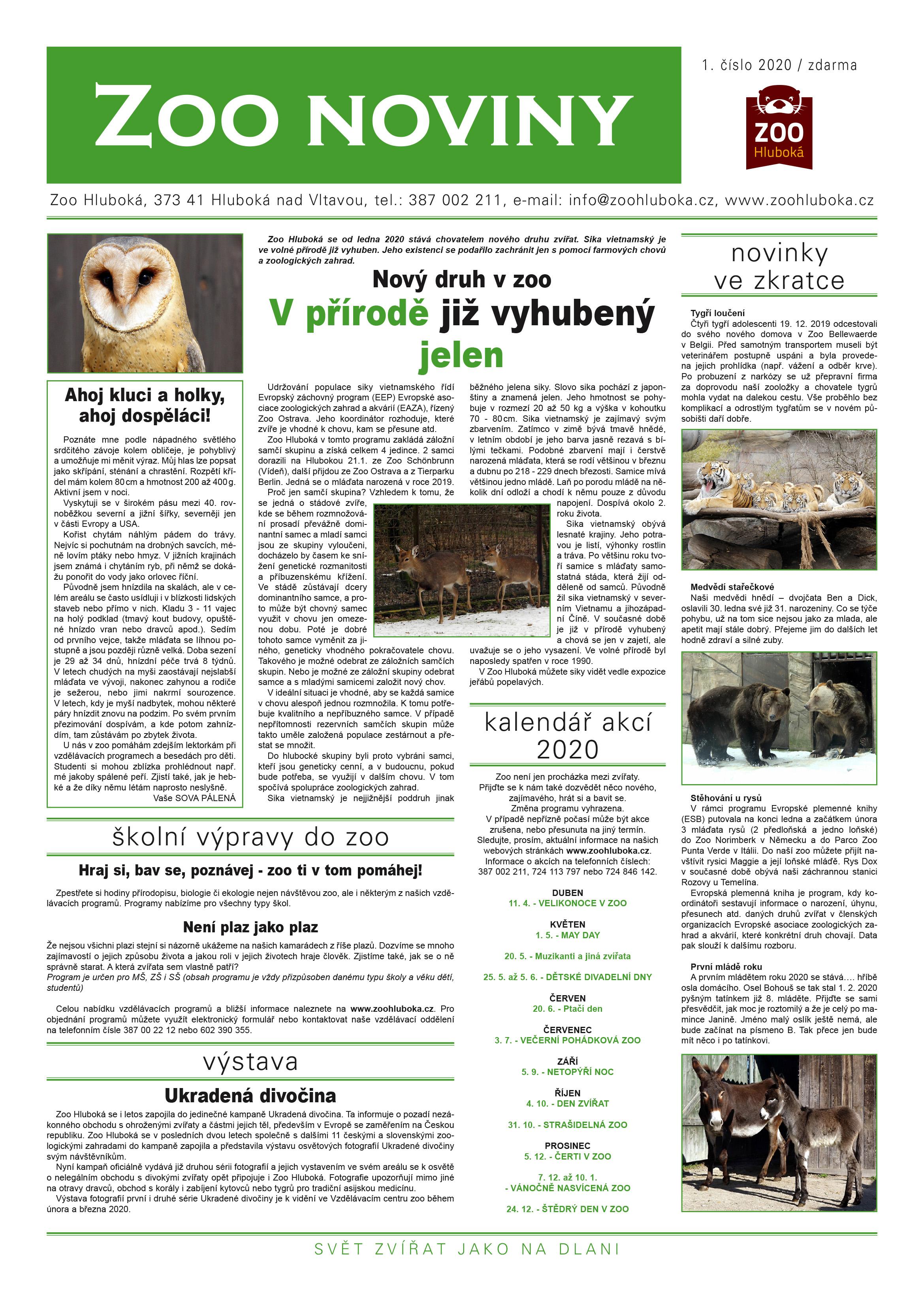Zoo noviny